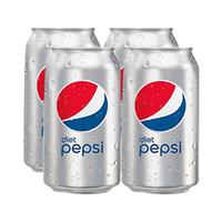 Pepsi Diet Soft Drink Can 330ML X4
