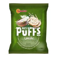 Sunwhite Rice Puffs Sour Cream & Chives 100g