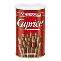 Papadopoulos Caprice Wafer Roll with Cocoa Hazelnut 115g
