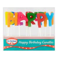 Dr. Oetker Happy Birthday Candles 19g
