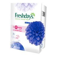 Freshdays natural cotton feel Long 48 pantyliners