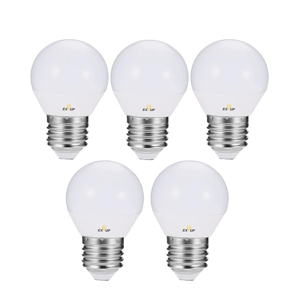 Buy Generic 220 240v Led Light Bulbs 7w E27 Led Spotlight Bulb Lamp Globe Light Bulbs Frosted Led Filament Indoor Bulb For Ceiling Lighting White 5pcs Online Shop Home And Garden On Carrefour
