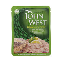 John West Tuna with a Lime & Black Pepper Dressing 85g