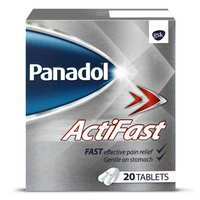 Panadol Actifast Fast Relief 20 Tablets