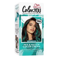 Wella mix and match hair color cream deep green hope