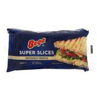 Bega Super Slices Cheese 728g