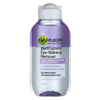 Garnier Skin Naturals 2 in 1 Express Eye Make Up Remover 125ml