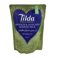Tilda Spinach and Avocado Basmati Rice 250g