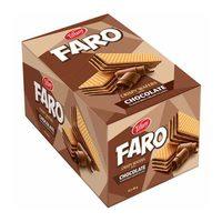 Tiffany faro crispy wafers with chocolate 45 g x 12 pieces