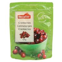 Nectaflor Soft Cranberries 125g