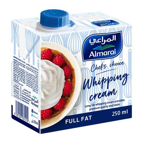 Buy Almarai Whipping Cream 250 Ml Online Shop Fresh Food On Carrefour Saudi Arabia
