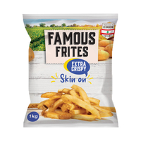 Famous Frites French Fries Skin On 1KG