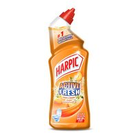 Harpic Fresh Liquid Toilet Cleaner Peach and Jasmine Scented 750 ml
