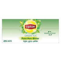 Lipton Pure Non-Bitter Green Tea 1.5g x Pack of 25