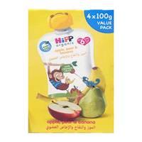 Hipp Apple, Pear and Banana Puree 100g