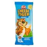 Zott Cheese Tiger Snack 21g x Pack Of 4