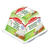 Soignon Goat Pyrmd Garlic And Herb 140g