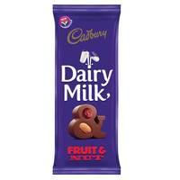 Cadbury Fruit and Nut Dairy Milk Chocolate 100g