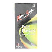 Kama Sutra Fruit Flavor Condom Pack of 12