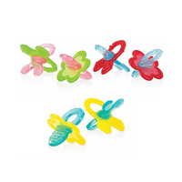 Nuby Teether Silicone Chewbies 0Months+