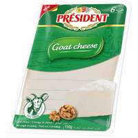 President Goat Cheese Slices 150g
