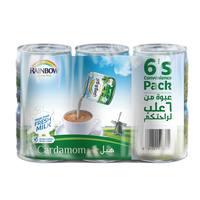 Rainbow Cardamom Quality Milk 170g x Pack of 6