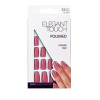 Elegant Touch 10 Size Polished Artificial Nails - Power Trip, 24 Piece