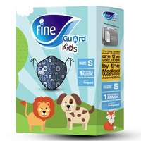 Face Mask Fine Guard Comfort Kids Blue Small (Carton of 01x40) Slim