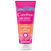 Carefree Vitamin E And Cotton Extract Daily Intimate Wash 200ml