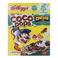 Kellogg's Coco Pops Chocolate Wheat Cereal 375g