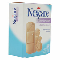 3M Nexcare Sheer Bandages 50 Pieces