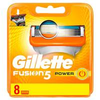 Gillette Fusion Power Men's Razor Refills  Pack of 8