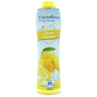 Carrefour concentrated lemon syrup 750 ml
