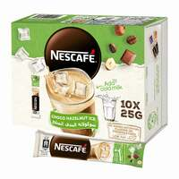 Nescafe choco hazelnut ice 25 g × 10
