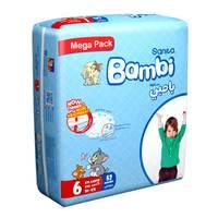 Bambi mega pack 6 xxl 18 + kg x 52
