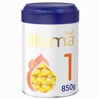 Wyeth Nutrition Illuma HMO Stage 1, 0-6 Months Infant Formula for Babies Tin, 850g