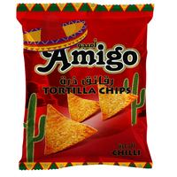 Amigo Chilli Flavor Tortilla Chips 250g