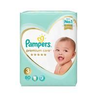 Pampers premium care diapers size 3 midi jumbo pack 80 diapers
