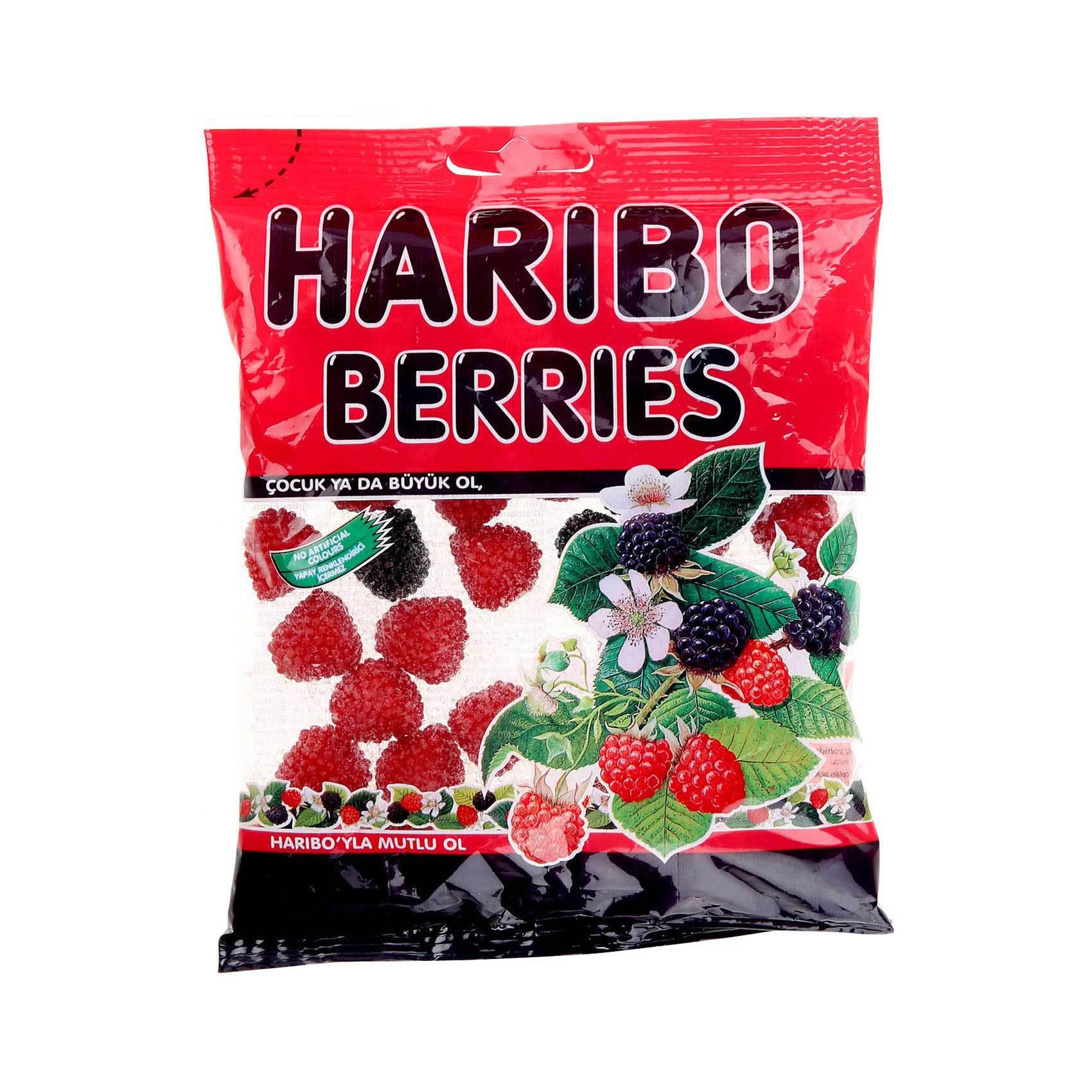Buy Haribo Berries 160 G Online Shop Food Cupboard On Carrefour Saudi Arabia