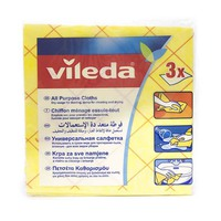 Vileda Cloth All Purpose Pack Of 3