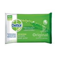 Dettol Anti-Bacterial Skin Wipes 10 Counts