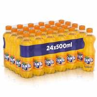 Fanta Orange Soft Drink 500ml x Pack of 24