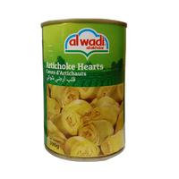 Al Wadi Al Akhdar Artichoke Hearts 390GR
