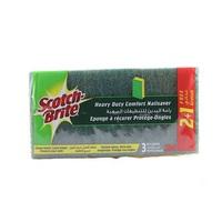 Scotch Brite Sponge Nail Saver Scrub 2+1 Free