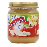 Farley's Strained Apple Baby Food Jar 120g