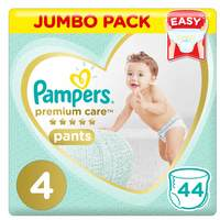 Pampers Premium Care Pants Diapers Size 4 44 Count