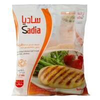 Sadia Boneless And Skinless Frozen Half Chicken Breast 1kg
