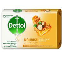 Dettol Nourish Antibacterial Bar Soap 165g