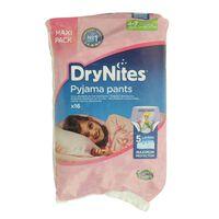 Huggies Dry Nites Bed Wetting Diaper Pants Jumbo Pack 4-7 Years 16 Count 17-30 kg
