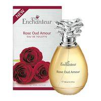 Enchanteur rose oud amour eau de toilette perfume for women 100 ml